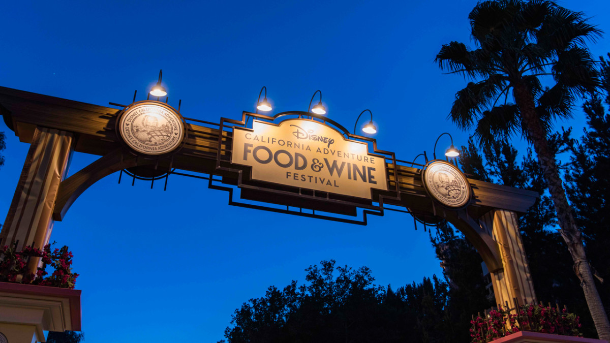 12 Days of Disney Parks Christmas: Disney California Adventure Food & Wine Festival Expands to Six Weeks in 2018 1