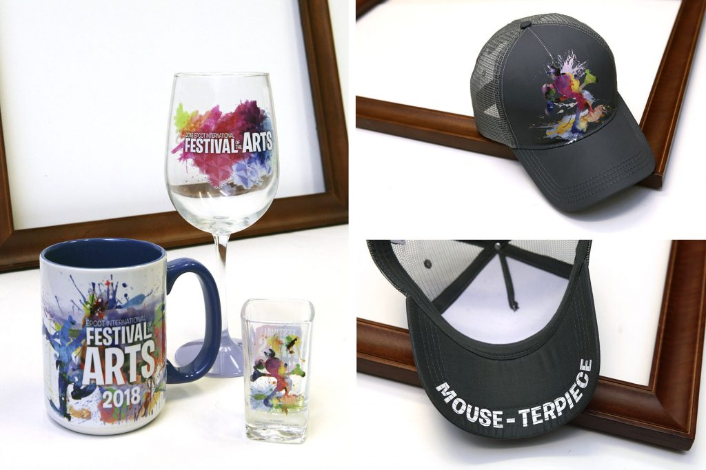 "Creating a Merchandise ""Mouse-terpiece"" for 2018 Epcot International Festival of the Arts 2"