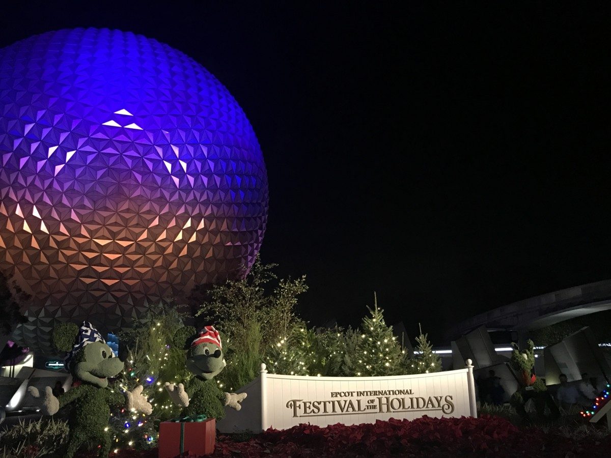 Photos from Epcot's Festival of the Holidays #EpcotHolidays 1