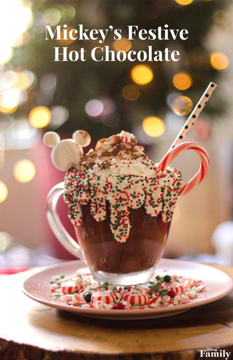 Mickey's Festive Hot Chocolate ~ DIY 2