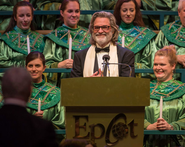 Disney Legend Kurt Russell Shares His Passion For the Holidays, Disney As Candlelight Processional Narrator 1