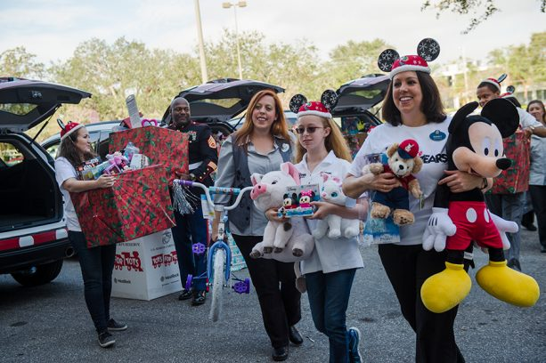 Walt Disney World Cast Members Go To Infinity and Beyond for Toys for Tots 7