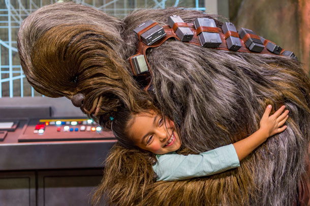 Chewbacca - Star Wars Day at Sea