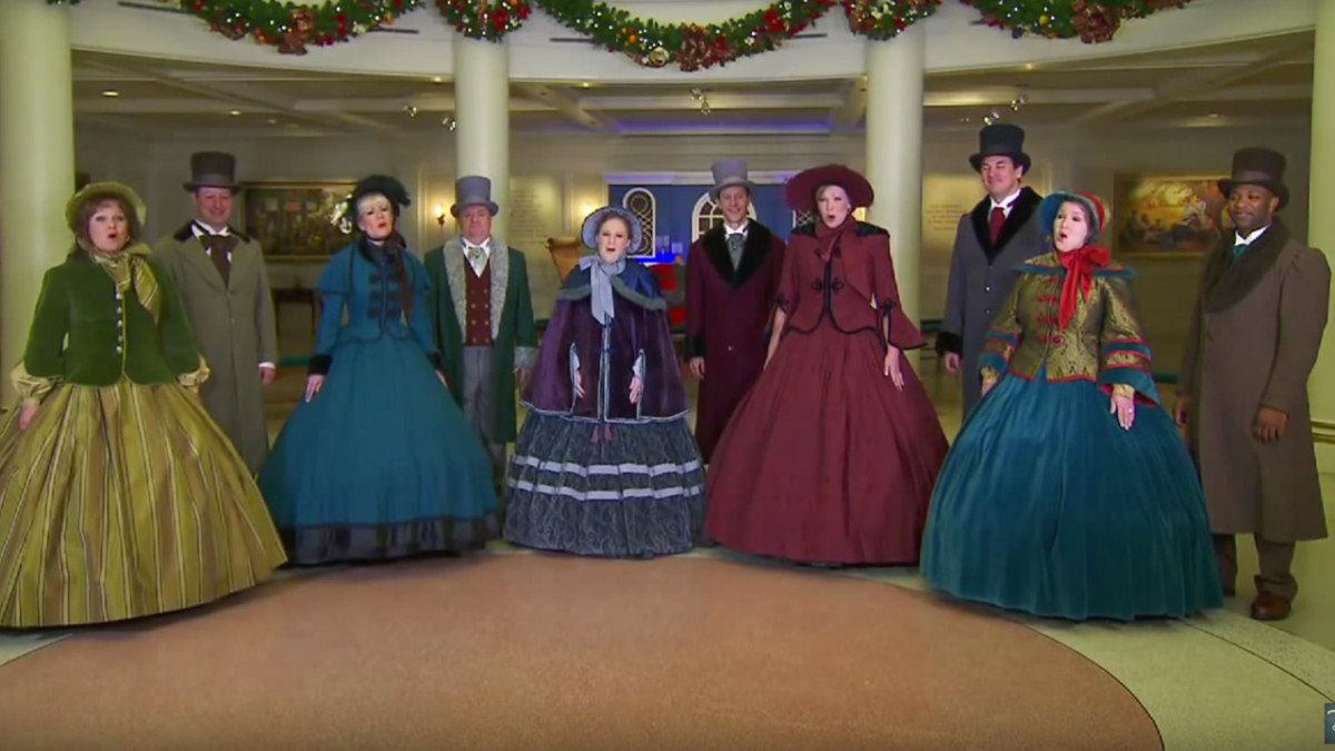 Listen As Voices of Liberty Perform 'Joy To The World' 1