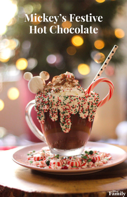 Mickey's Festive Hot Chocolate ~ DIY 12