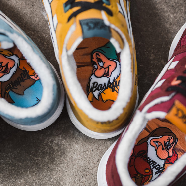 The ASICS Snow White and the Seven Dwarfs Collection 1