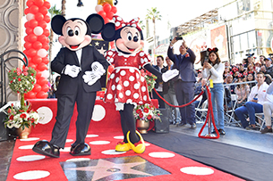 Minnie Mouse Receives A Star On The Hollywood Walk of Fame 13