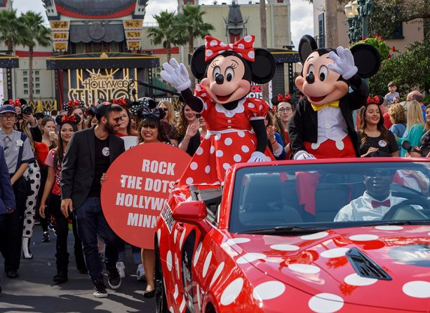 Minnie Mouse Receives A Star On The Hollywood Walk of Fame 2