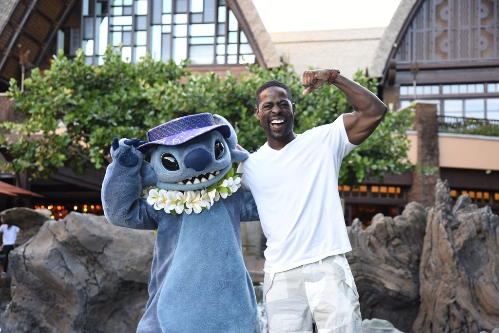 Actor Sterling K. Brown Vacations at Aulani, a Disney Resort & Spa 3