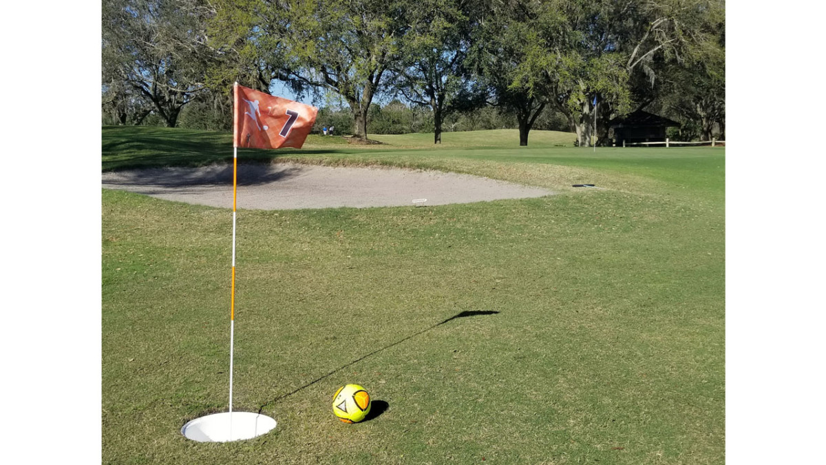 FORE! Kick Your Golf Experience into High-Gear with the New FootGolf Experience at Disney's Oak Trail Golf Course at Walt Disney World Resort 1