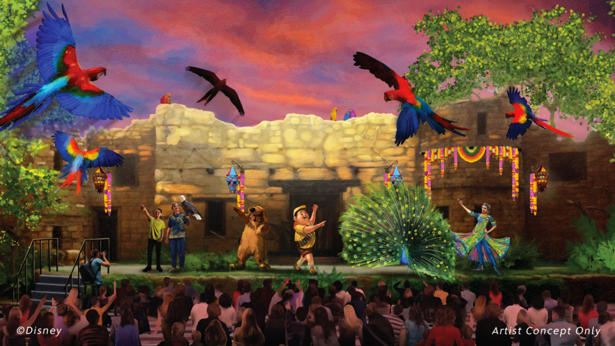 New 'UP! A Great Bird Adventure' Show at Disney's Animal Kingdom Opens April 22 1