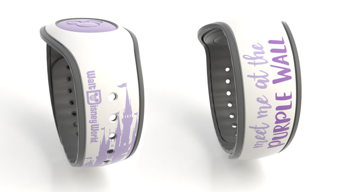 Purple Wall-Inspired Design Among New MagicBands Available in March 1