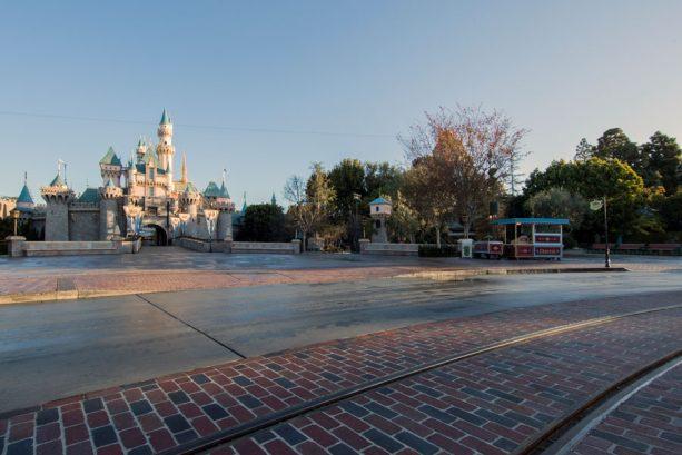 Cinderella Castle at Disneyland
