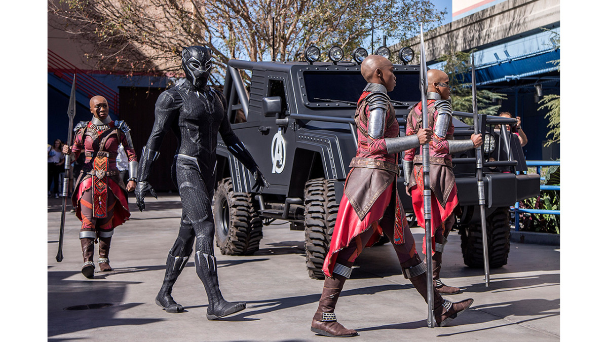 Black Panther Now Appearing at Disney California Adventure Park 2