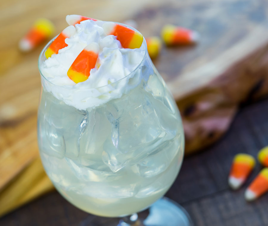 Popcorn Lemonade Cocktail at Disney California Food & Wine Festival