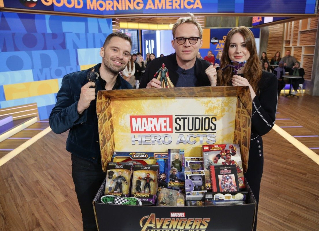Marvel Universe Unites for Children's Charities 1