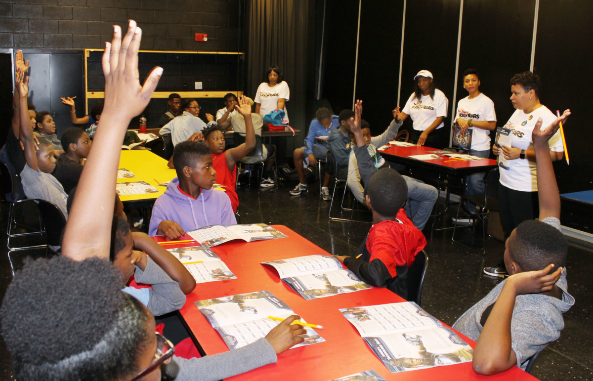 Boys & Girls Clubs of Central Florida Learn About Nature with Black Panther Activity Book and Walt Disney World Resort Cast Members