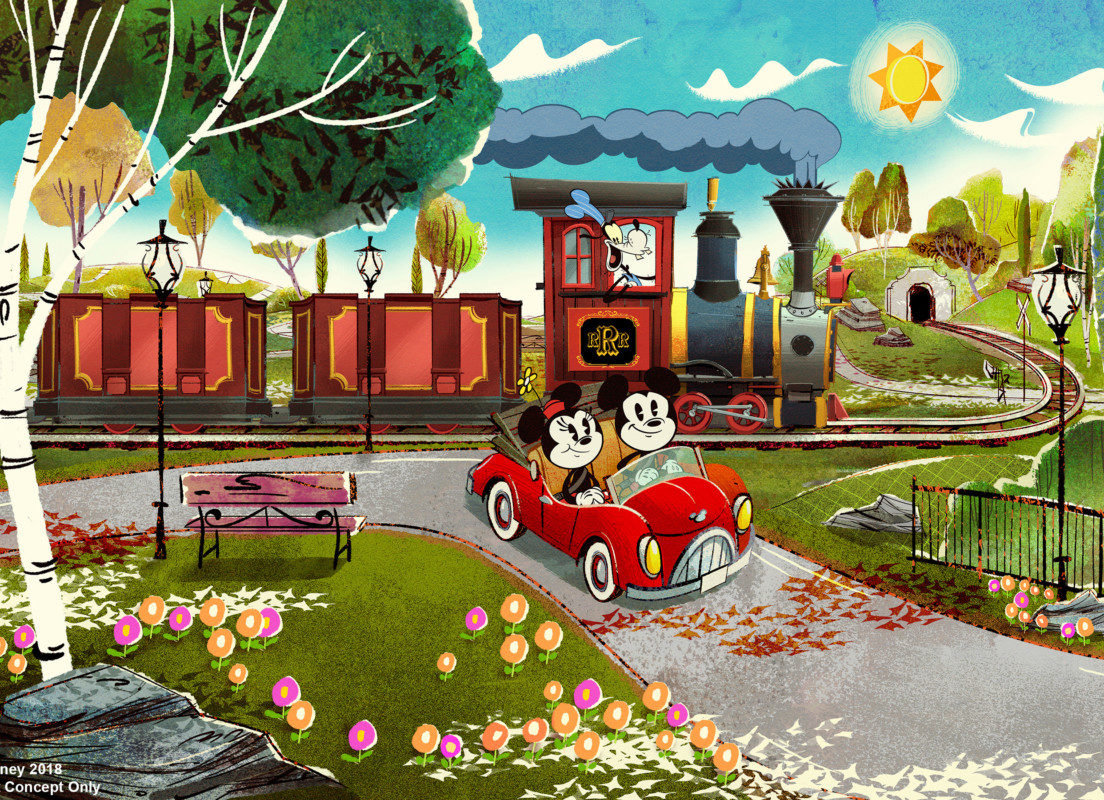 Mickey & Minnie's Runaway Railway Opens Next Year at Disney's Hollywood Studios 1