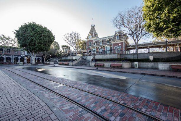 First Look: New Brickwork Revealed on Main Street, U.S.A., at Disneyland Park 1
