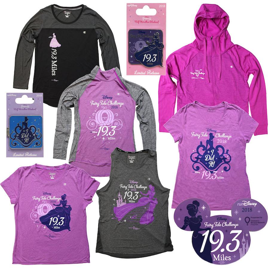 2018 Disney Fairy Tale Challenge Merchandise
