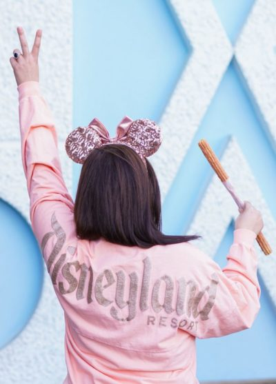 Strawberry Rose Gold Churros Arrive at Disneyland Park 1