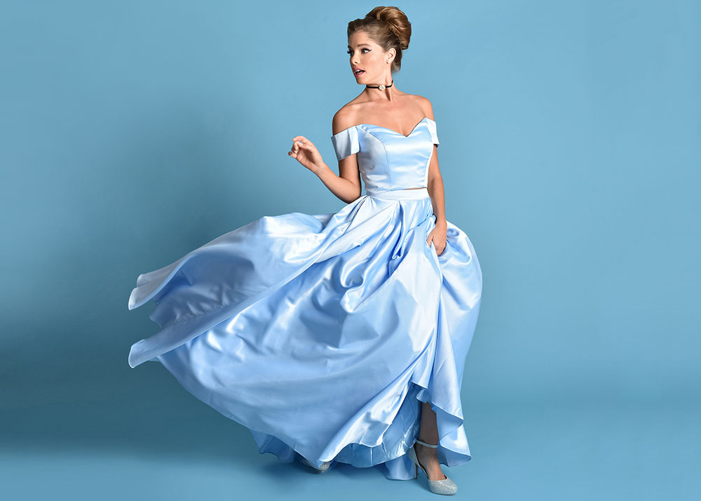 Disney Princess Themed Gowns from Unique Vintage! #DisneyStyle 3