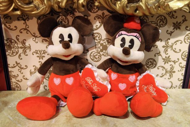 Mickey Mouse and Minnie Mouse Plush from Disney Parks