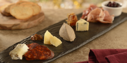 Assorted Meats and Artisanal Cheeses at Be Our Guest Restaurant in Magic Kingdom Park