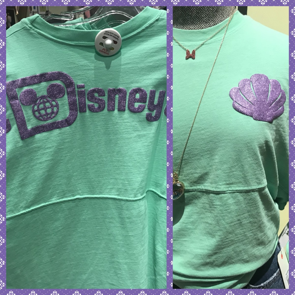 Re-Post! New Princess Spirit Jerseys, Disney Springs! See all 4 Below! #DisneyStyle 4