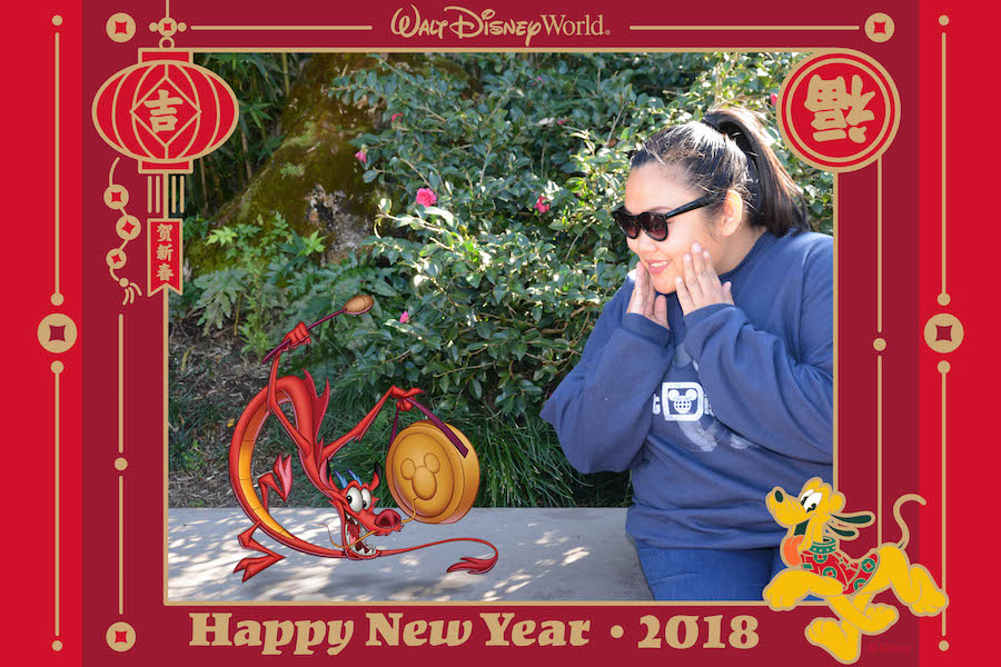 Ring in Lunar New Year with Disney PhotoPass Service at Epcot on Feb. 16 1