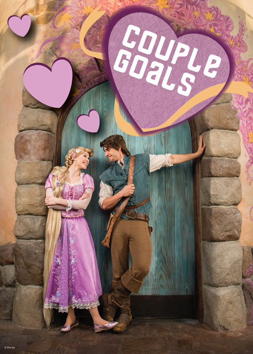 Valentine's Day Card - Rapunzel and Flynn