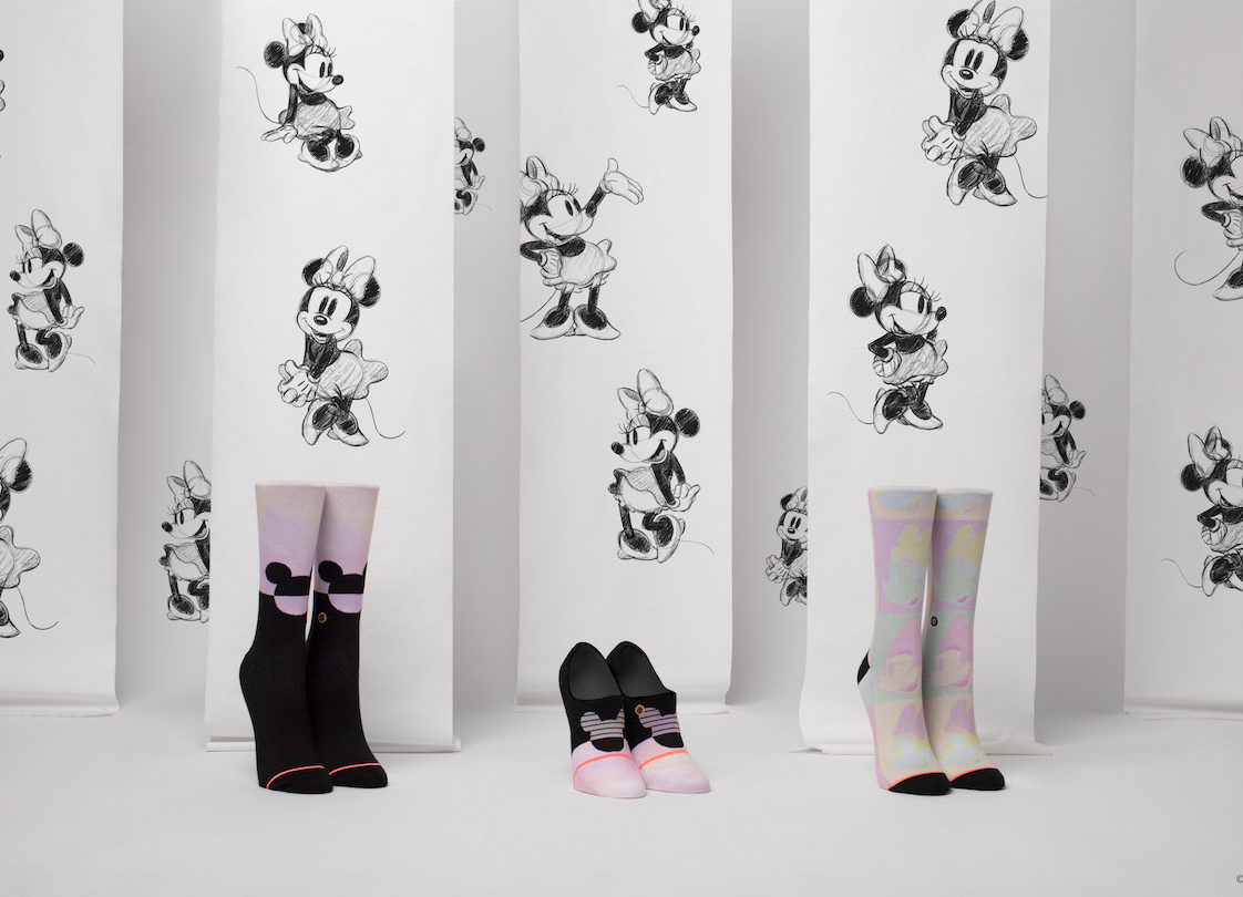 Adorable Minnie Mouse Socks from Stance's New Spring Collection! 1