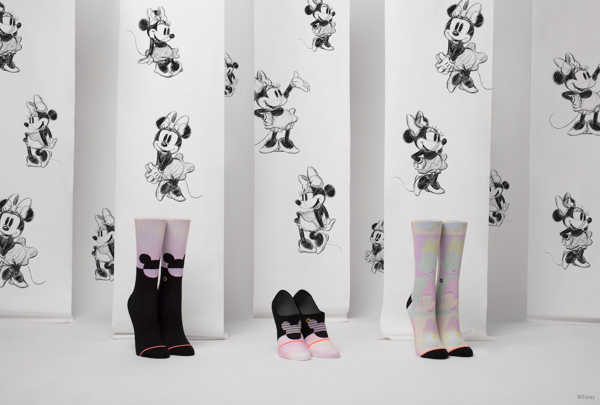 Adorable Minnie Mouse Socks from Stance's New Spring Collection! 4