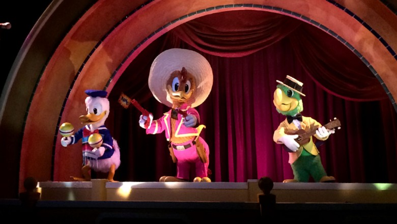 The Three Caballeros and The Gran Fiesta Tour 1