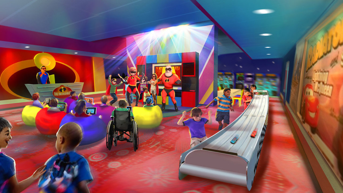 Reservations Now Open for Pixar Play Zone at Disney's Contemporary Resort 1