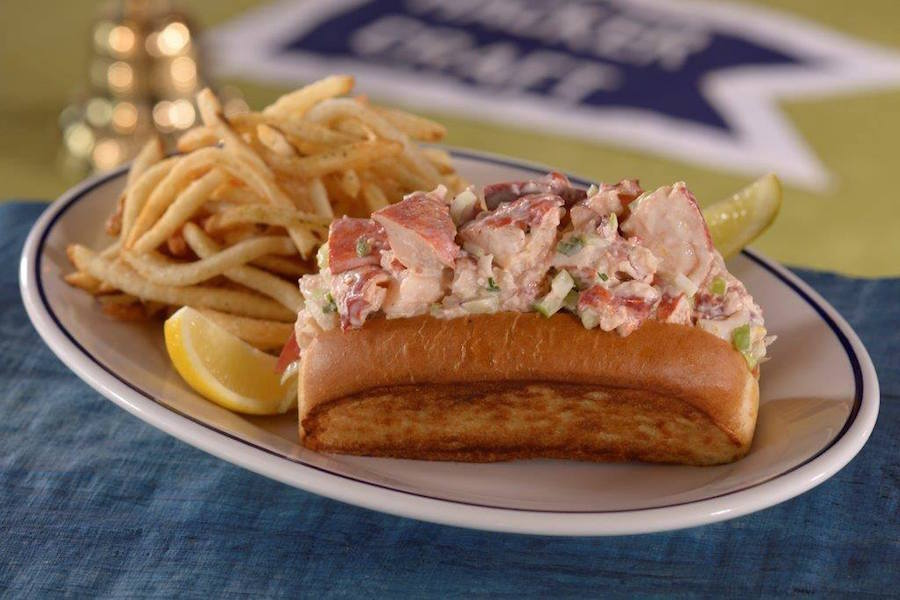 Lobser Roll from The BOATHOUSE at Disney Springs