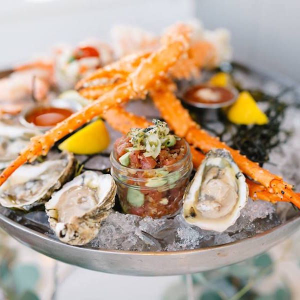 Seafood Tower from Paddlefish at Disney Springs