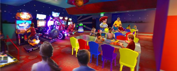 Reservations Now Open for Pixar Play Zone at Disney's Contemporary Resort 3