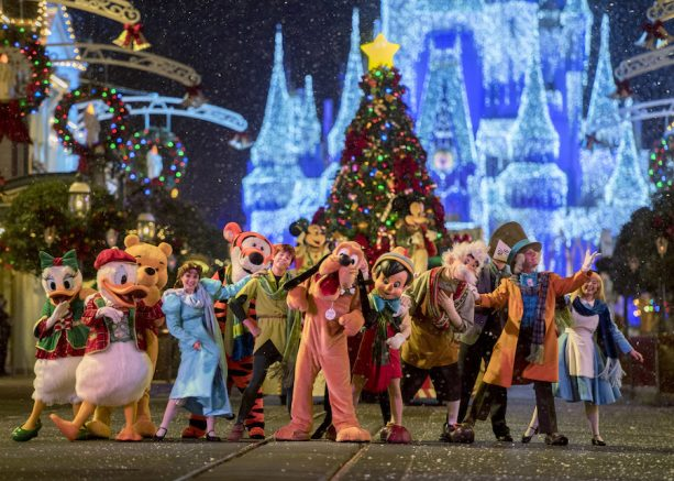Mickey's Once Upon a Christmastime Parade during Mickey's Very Merry Christmas Party