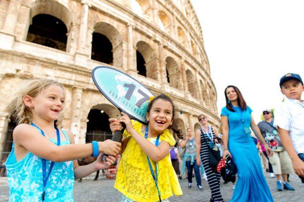 Kids in Rome