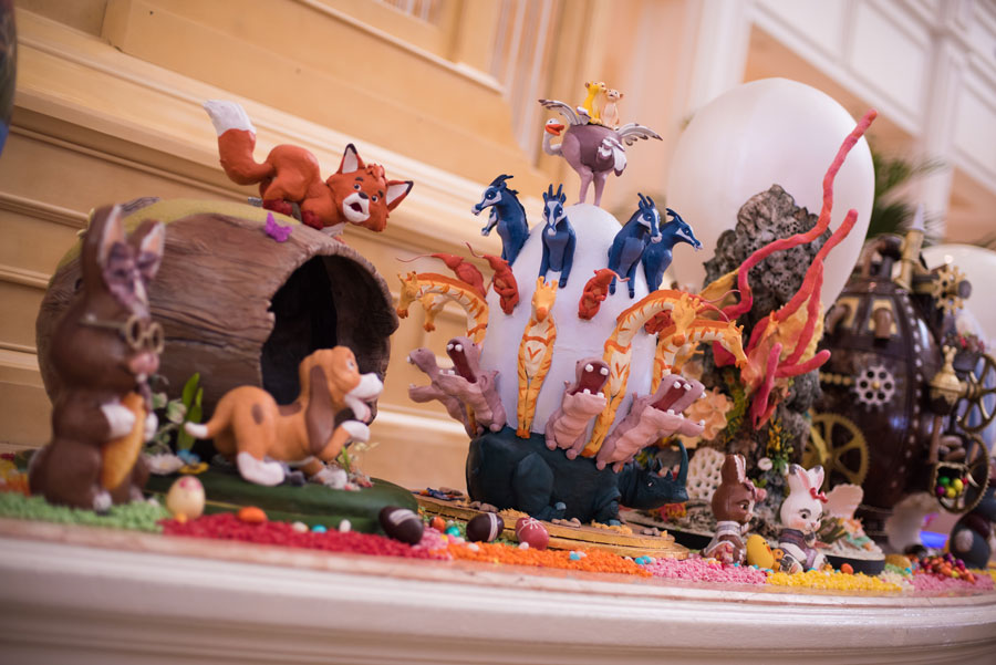 Disney-Themed Easter Eggs at Disney's Grand Floridian Resort & Spa