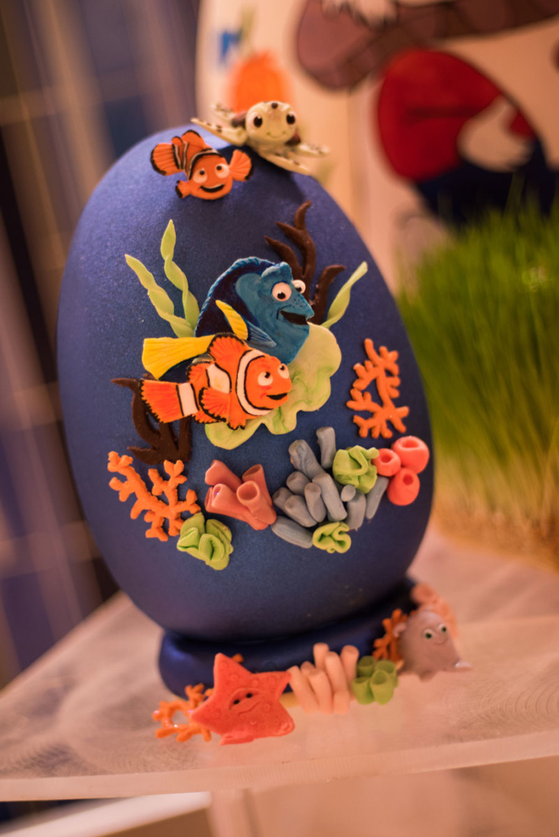 Finding Nemo Easter Egg at Disney's Contemporary Resort