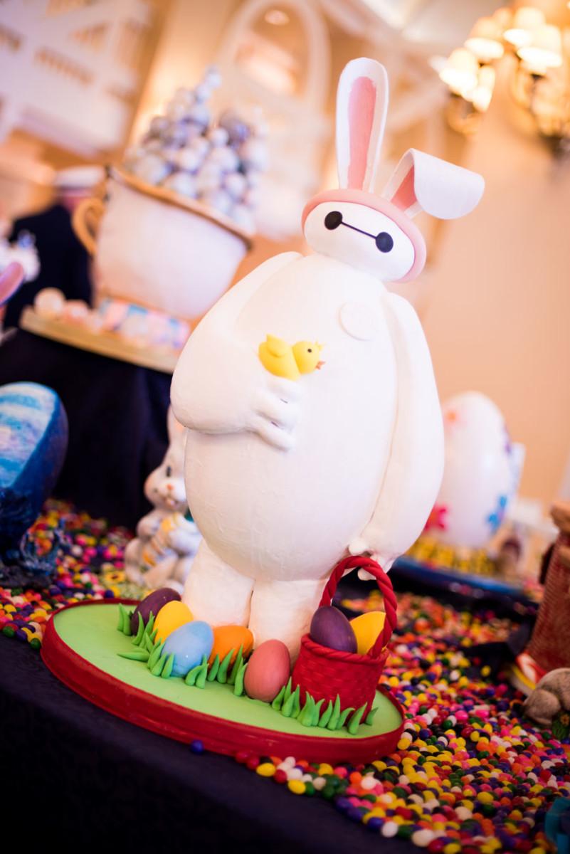Baymax Easter Egg at Disney's Beach Club Resort