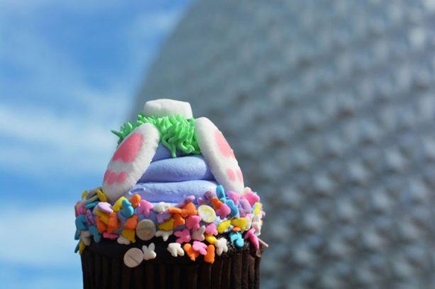 Easter Cupcake at Sunshine Seasons at Epcot