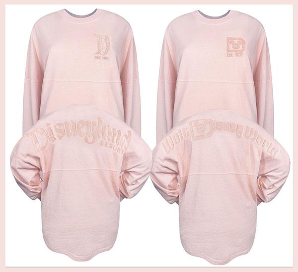 Pink Spirit Jerseys, at Disney Parks