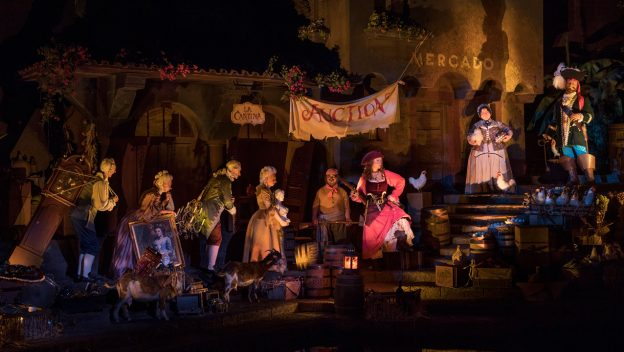 Pirates of the Caribbean at Walt Disney World Resort Reopens Today with New Auction Scene 1