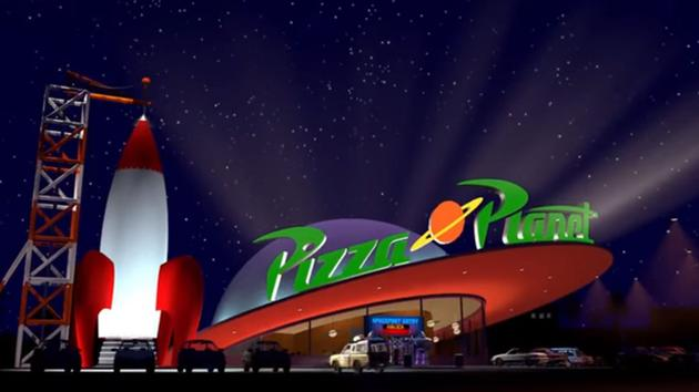 Alien Pizza Planet Landing Soon at Disneyland Park 41
