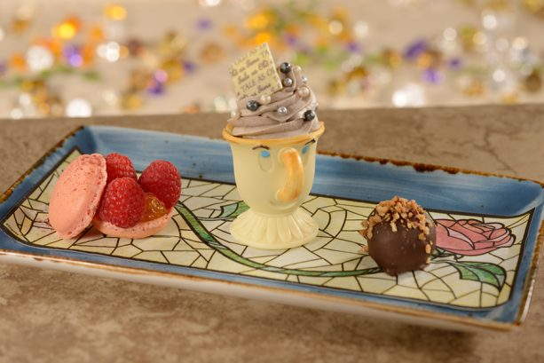 Dessert Trio at Be Our Guest Restaurant at Magic Kingdom Park
