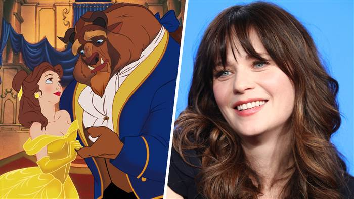 Disney announces Beauty and the Beast live concert with Zooey Deschanel as Belle 1