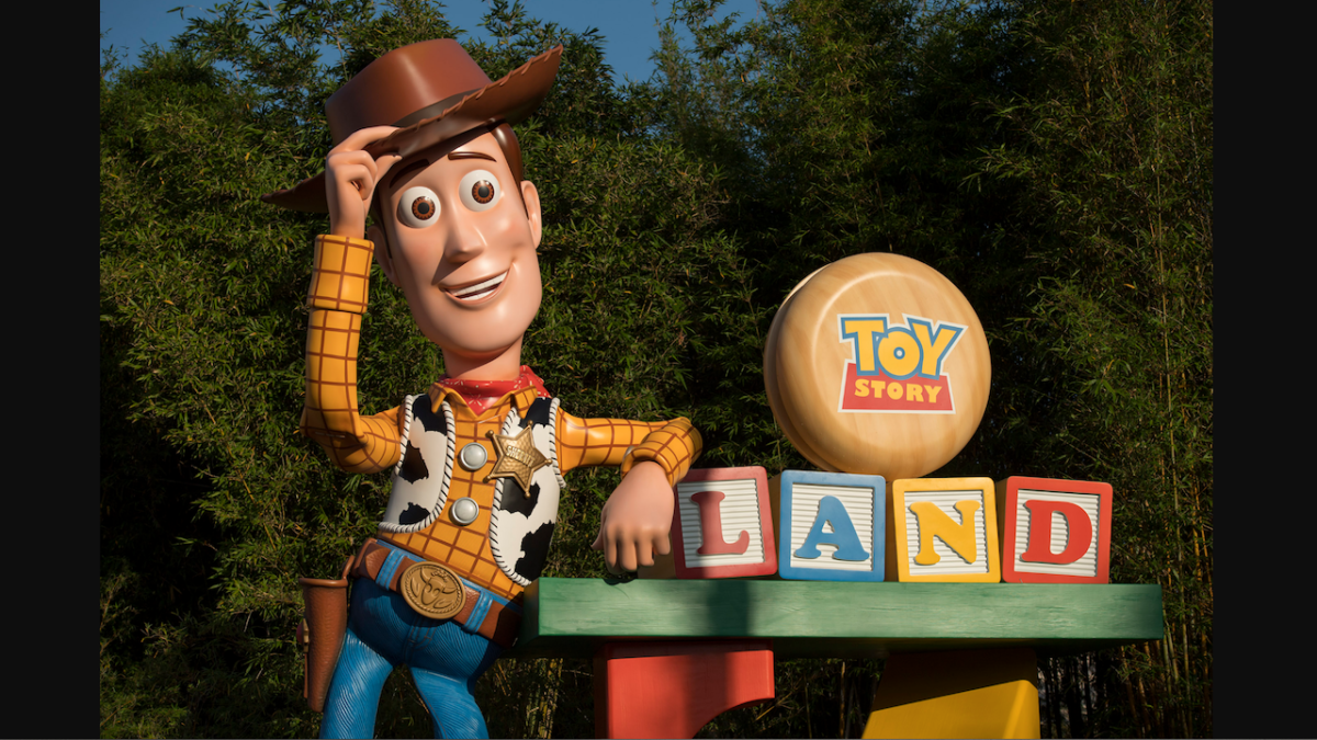 All in the Details: Woody Arrives in Toy Story Land 1